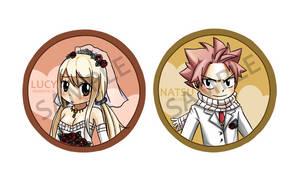 Nalu wedding badges