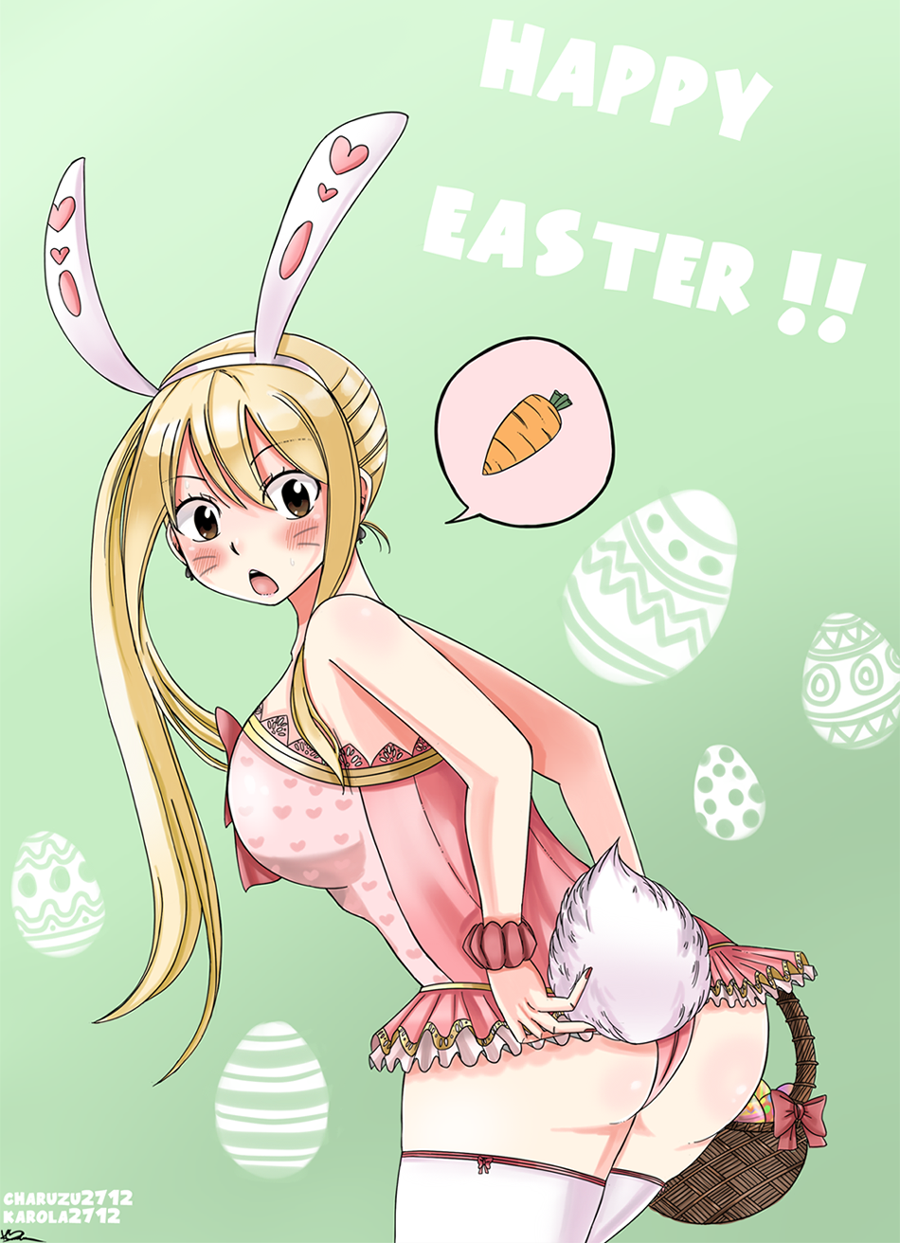 Lucy Easter Bunny by Karola2712