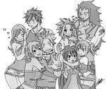 Fairy tail family!