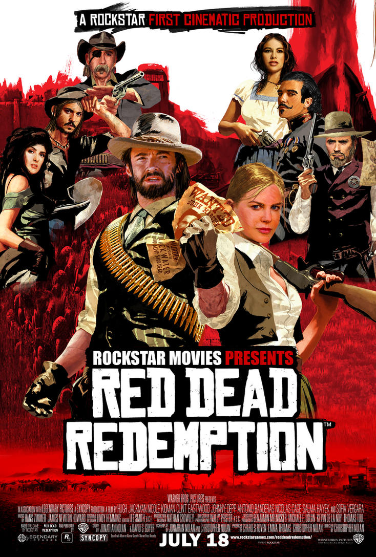 Red Dead Redemption - The Movie Poster by NERDSS on DeviantArt