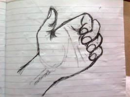 Left Hand: Quick Sketch 1