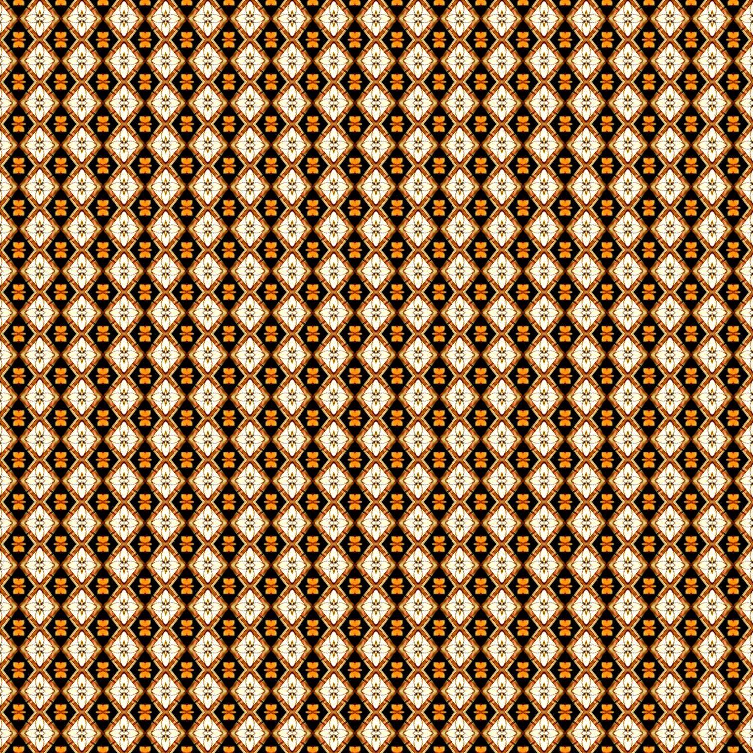 Tan Diamond Pattern 1