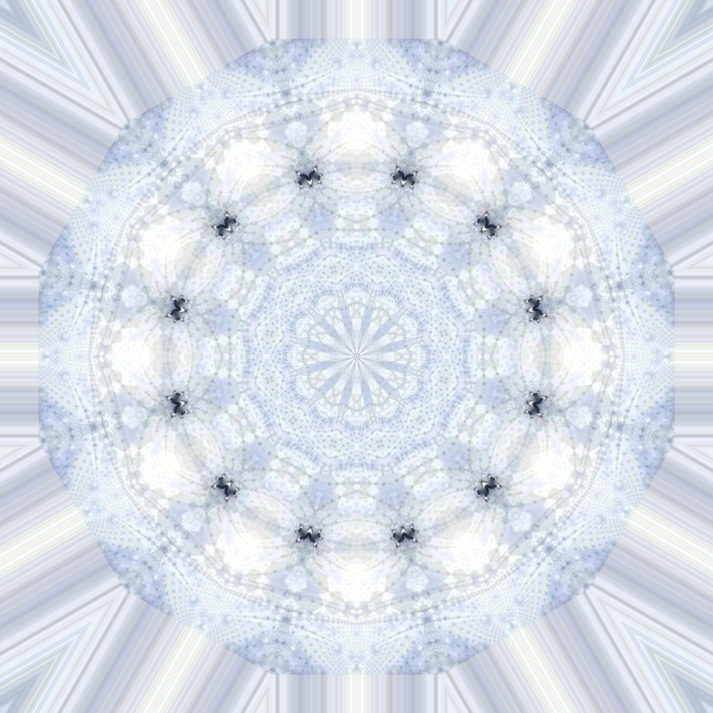 light blue lace mandala - photo #8