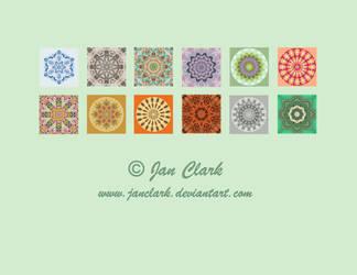 Calendar back cover by janclark