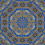 Stained Glass Mandala 4