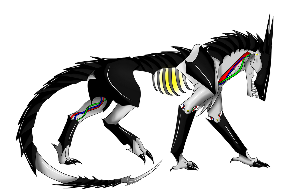 Robot Wolf Adopt CLOSED By FoliageZ On DeviantArt