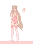 Champagne Diamond Adopt - OPEN -PRICE LOWERED