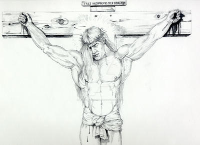 Crucifiction by TheDirtyPencil