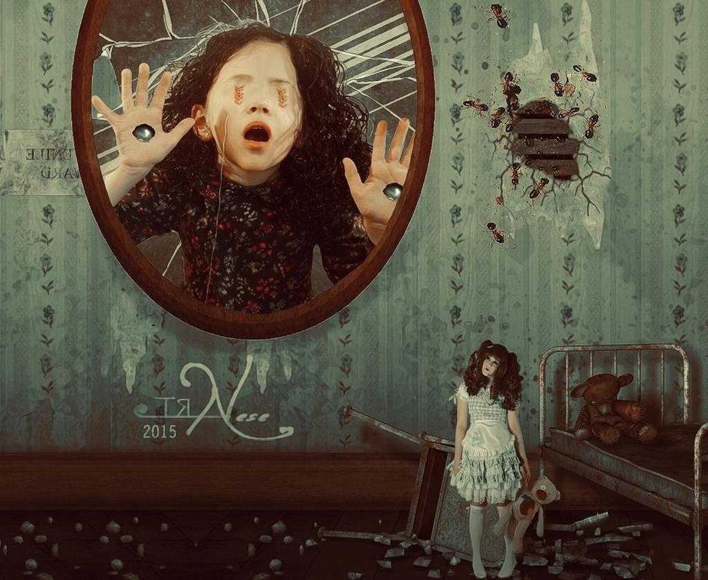 Fear of Mirror by nesekavak