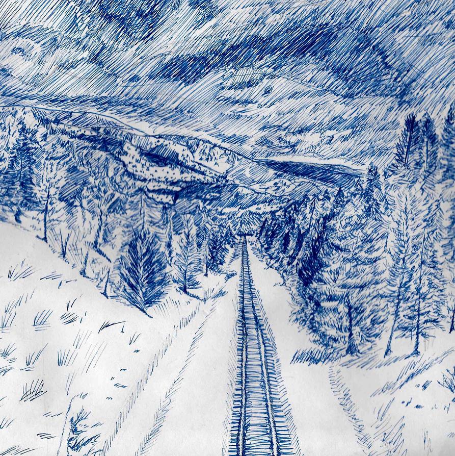 Blue Winter by OkEvelyn