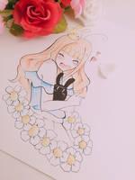 Flower Girl by BubbelTeaChan