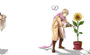 APH- rossiya is gardener, da? by Clicio