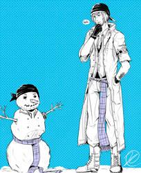 FF13- snow-man by Clicio