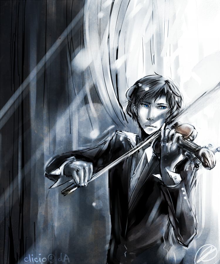 BBC Sherlock- violinist by Clicio
