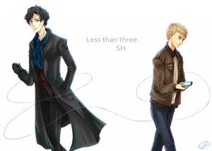 BBC Sherlock- less than three