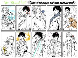 fav character meme by Clicio