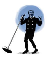 Otis Redding Caricature