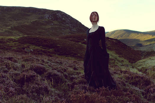 Woman in the Highlands