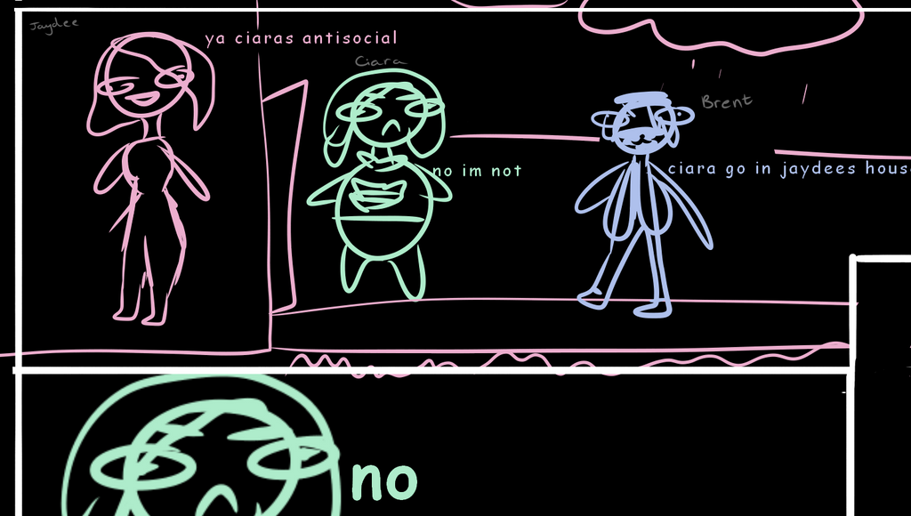 First Comic Pls Dont Hate by ItsCiaraNotKiera
