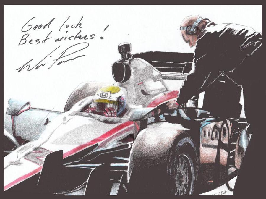Will Power 2010 -Autographed by Kalmek182