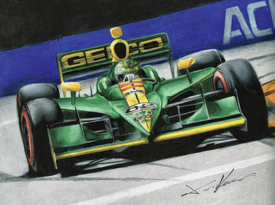 Tony Kanaan Lotus -Autographed by Kalmek182