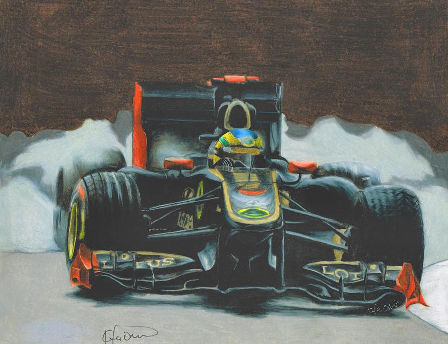 Bruno Senna .9 Renault by Kalmek182
