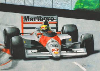A. Senna by Kalmek182