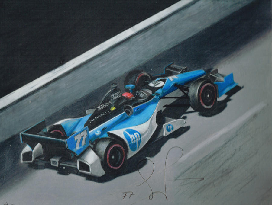 Simon Pagenaud #77 by Kalmek182