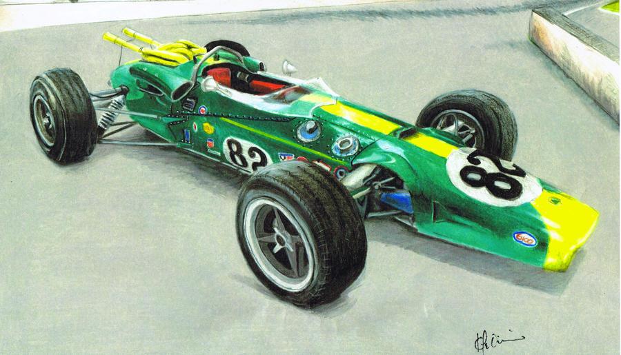 Jim Clark #82 by Kalmek182
