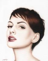 Anne Hathaway  by ReneGarJ
