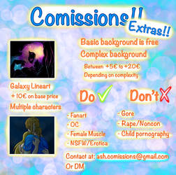 Comissions Chart Extras 2