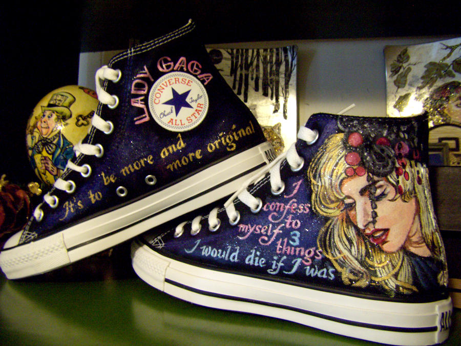 Bad Romance-ing Lady Gaga by alcat2021