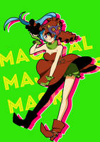 Magical Majora's Mask Lana by Arechan