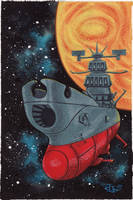 Space Battleship Yamato by pumml