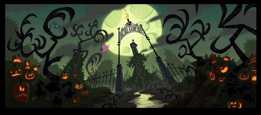 Monstroville Graveyard BG by pumml
