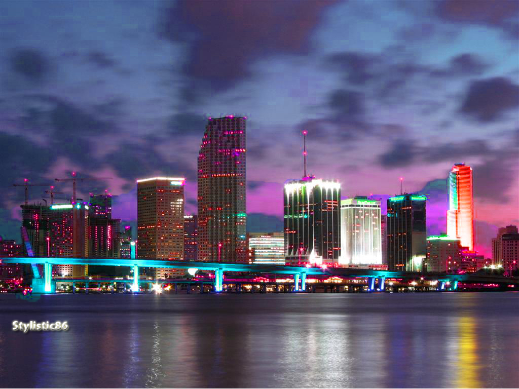 neon_miami_skyline_by_stylistic86-d5rse3
