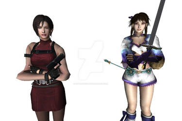 Ada and Xianghua by Stylistic86