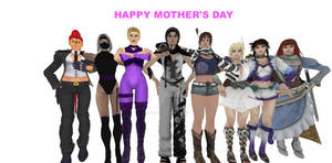 Fighting Game Moms Revised