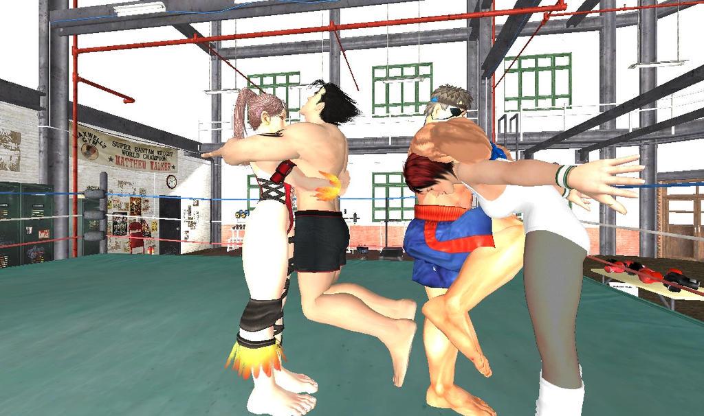 from Will naked wrestling men vs women