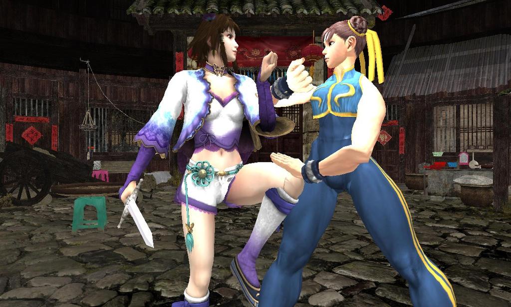 Xianghua and Chun Li: Training by Stylistic86