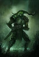 Swamp Warrior by JohnoftheNorth