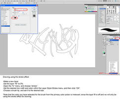 Drawing With The Stroke Tool In Photoshop