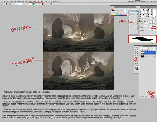 The Smudge Brush In Photoshop