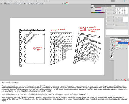 Repeat Transform In Photoshop