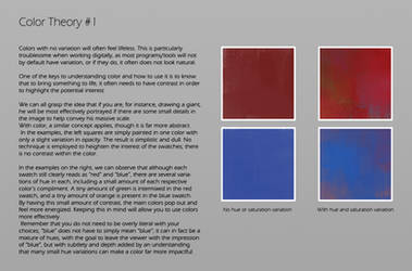 Color Theory Part 1 by JohnoftheNorth