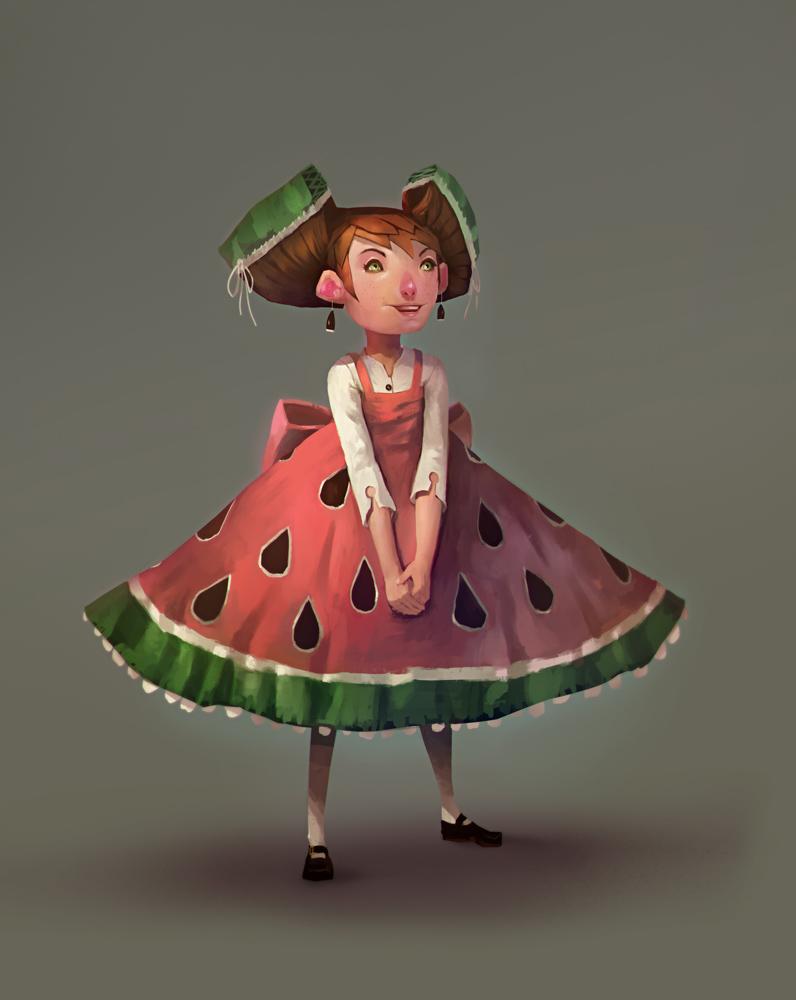 Watermelon by JohnoftheNorth