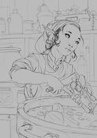 Cooking by JohnoftheNorth