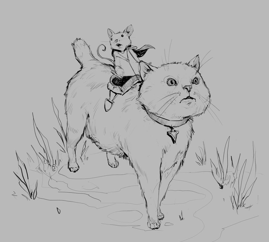 Mouse Cavalry by JohnoftheNorth