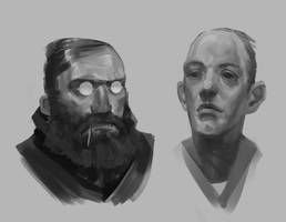 2017 Sketches 11 by JohnoftheNorth