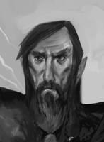 Wizard - 2017 Sketches 13 by JohnoftheNorth